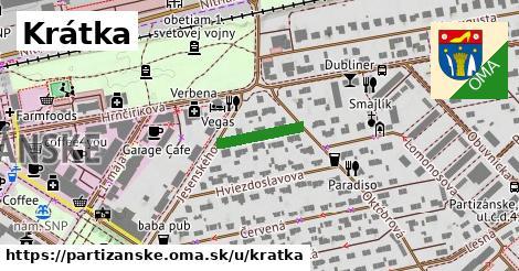 ilustrácia k Krátka, Partizánske - 128m