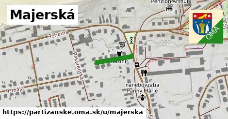 ilustrácia k Majerská, Partizánske - 129m