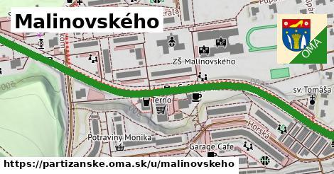 ilustrácia k Malinovského, Partizánske - 0,89km