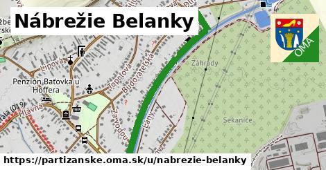 ilustrácia k Nábrežie Belanky, Partizánske - 0,90km