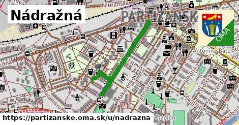 ilustrácia k Nádražná, Partizánske - 557m