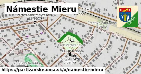 ilustrácia k Námestie Mieru, Partizánske - 162m