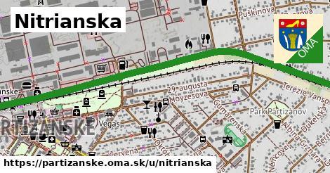 ilustrácia k Nitrianska, Partizánske - 2,7km