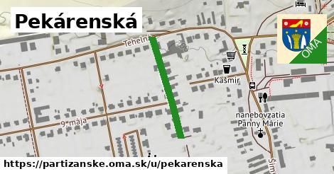 ilustrácia k Pekárenská, Partizánske - 230m