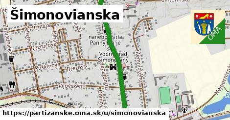 ilustračný obrázok k Šimonovianska, Partizánske