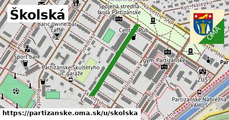 ilustrácia k Školská, Partizánske - 276m