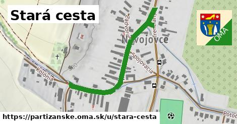 ilustrácia k Stará cesta, Partizánske - 463m