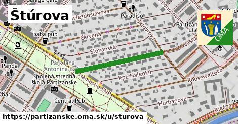 ilustrácia k Štúrova, Partizánske - 278m
