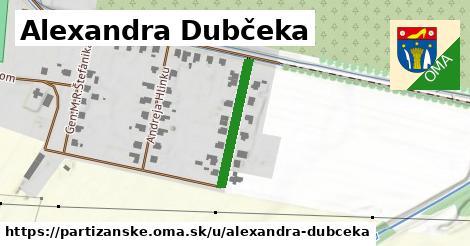 ilustrácia k Alexandra Dubčeka, Partizánske - 211m