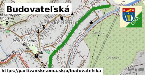 ilustrácia k Budovateľská, Partizánske - 1,09km