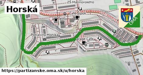 ilustrácia k Horská, Partizánske - 0,94km