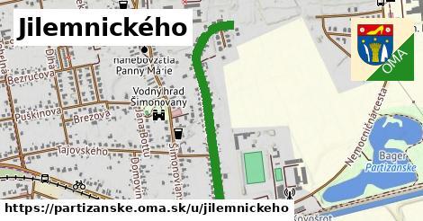 ilustrácia k Jilemnického, Partizánske - 0,76km