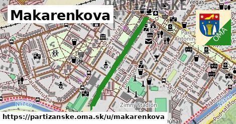 ilustrácia k Makarenkova, Partizánske - 666m