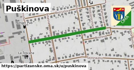 ilustrácia k Puškinova, Partizánske - 461m