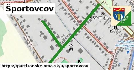 ilustrácia k Športovcov, Partizánske - 550m