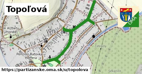 ilustrácia k Topoľová, Partizánske - 0,79km