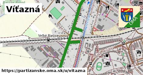 ilustrácia k Víťazná, Partizánske - 1,26km