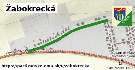ilustračný obrázok k Žabokrecká, Partizánske