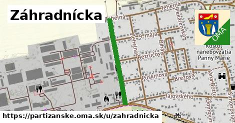 ilustrácia k Záhradnícka, Partizánske - 555m