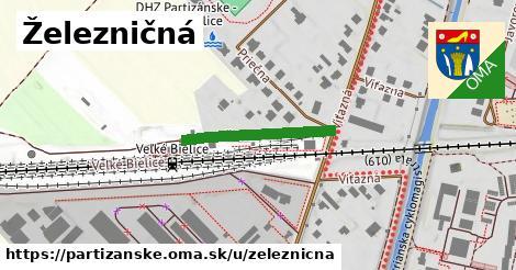 ilustračný obrázok k Železničná, Partizánske