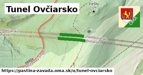ilustrácia k Tunel Ovčiarsko, Paština Závada - 272m