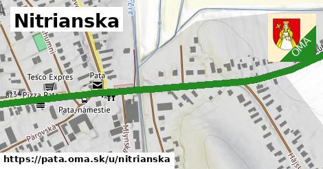 ilustrácia k Nitrianska, Pata - 0,94km