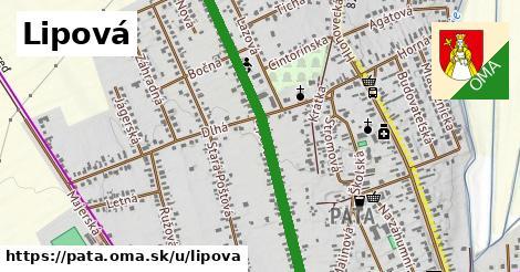 ilustrácia k Lipová, Pata - 0,96km