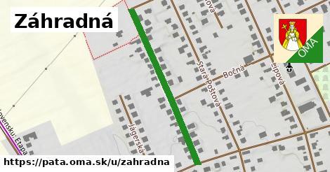 ilustrácia k Záhradná, Pata - 384m