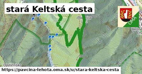 ilustrácia k stará Keltská cesta, Pavčina Lehota - 3,3km