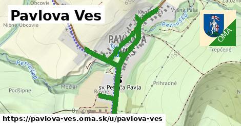 ilustrácia k Pavlova Ves, Pavlova Ves - 1,65km