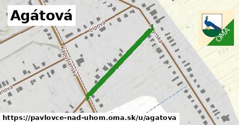 ilustrácia k Agátová, Pavlovce nad Uhom - 298m