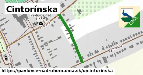 ilustrácia k Cintorínska, Pavlovce nad Uhom - 280m
