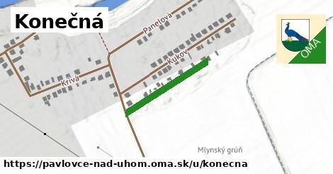 ilustrácia k Konečná, Pavlovce nad Uhom - 217m