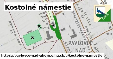 ilustrácia k Kostolné námestie, Pavlovce nad Uhom - 227m