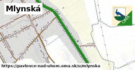 ilustrácia k Mlynská, Pavlovce nad Uhom - 1,69km