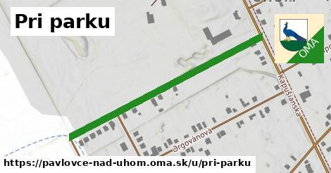 ilustrácia k Pri parku, Pavlovce nad Uhom - 489m