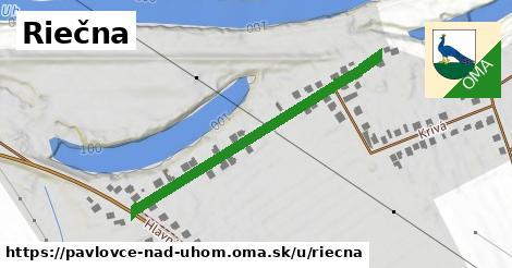 ilustrácia k Riečna, Pavlovce nad Uhom - 388m