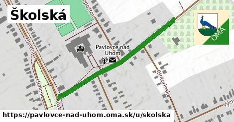 ilustrácia k Školská, Pavlovce nad Uhom - 452m
