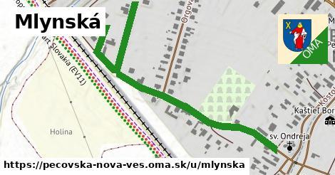 ilustrácia k Mlynská, Pečovská Nová Ves - 0,76km