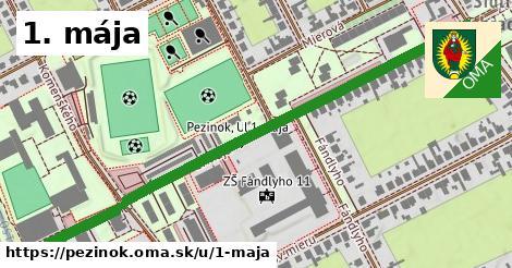 ilustrácia k 1. mája, Pezinok - 0,70km
