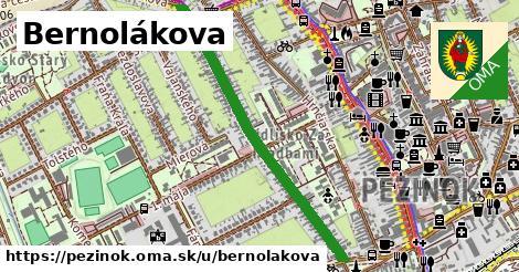 ilustračný obrázok k Bernolákova, Pezinok