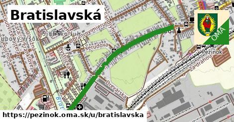 ilustračný obrázok k Bratislavská, Pezinok