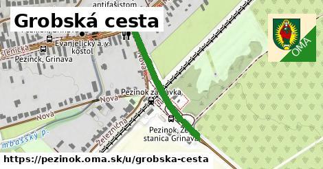 ilustrácia k Grobská cesta, Pezinok - 315m