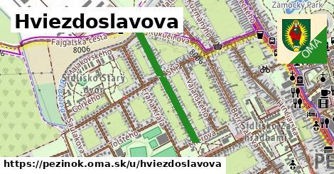ilustrácia k Hviezdoslavova, Pezinok - 560m
