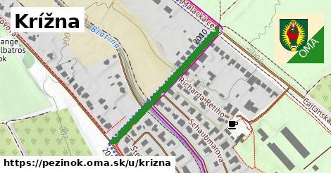 ilustrácia k Krížna, Pezinok - 353m