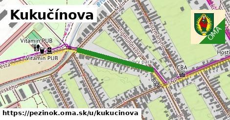 ilustrácia k Kukučínova, Pezinok - 258m