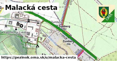 ilustrácia k Malacká cesta, Pezinok - 1,19km