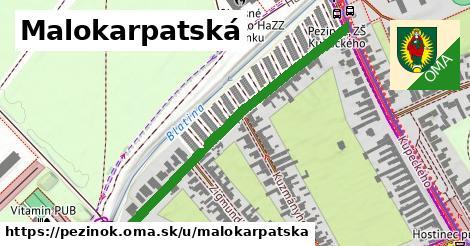 ilustrácia k Malokarpatská, Pezinok - 513m