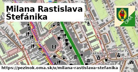 ilustračný obrázok k Milana Rastislava Štefánika, Pezinok