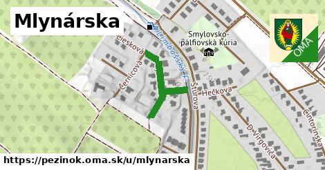 ilustrácia k Mlynárska, Pezinok - 215m